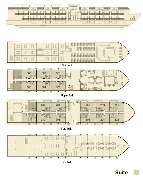 senator Nile Cruise plan