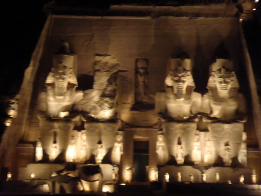 abu simbel sound and light show