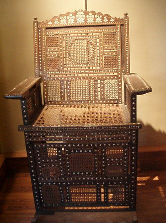 coptic throne