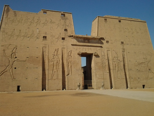 The Temple of Edfu | Edfu Temple | Temple of Horus - AskAladdin