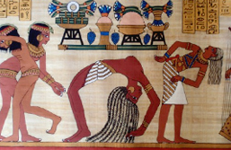 Ancient Egypt Dancing and Music