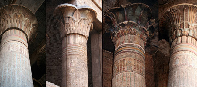 the columns of ancient egypt askaladdin
