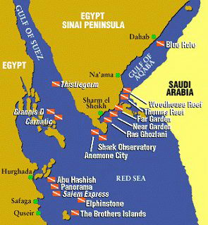 Sinai Travel Information Sinai Travel Guide Transportation - Map of egypt holiday resorts