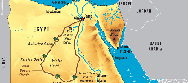 Egypt Maps - Egypt interactive map