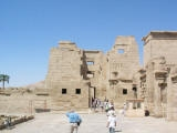 The Temple Of Medinet Habu