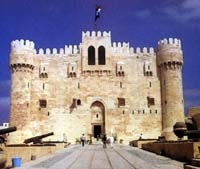 The Qaitbay Citadel In Alexandria