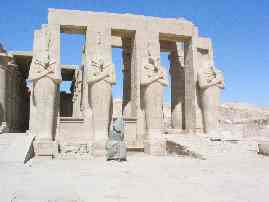 The Temple Of The Ramesseum