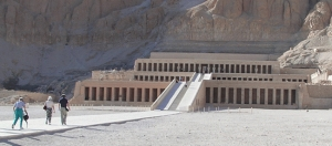 The Temple Of Hatshepsut At Deir El-Bahri