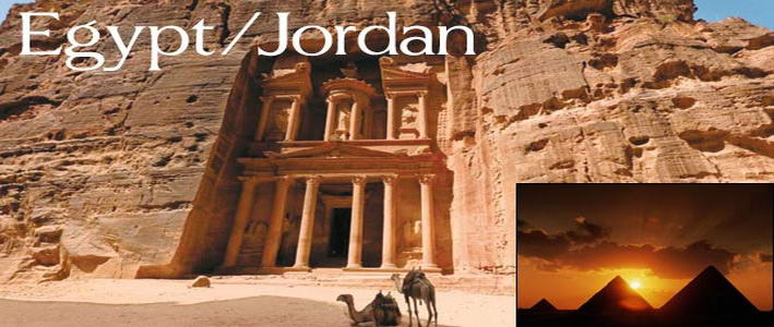 Egypt and Jordon